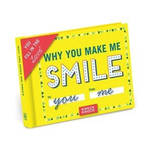 Australia Fill In The Love Journal - Why You Make Me Smile