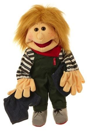 Europe Kleiner Pelle Junge mitzwei Hosen 45cm Living Puppets