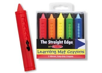 Australia M&D - Learning Mat Crayons