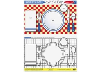Australia M&D - Set the Table Colour-A-Mat