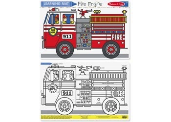Australia M&D - Fire Engine Colour-A-Mat