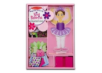 Australia M&D - Nina Ballerina Magnetic Dress-Up