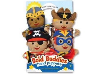Australia M&D • Bold Buddies Hand Puppets