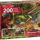 Australia M&D - Dinosaur World Floor Puzzle - 200pc