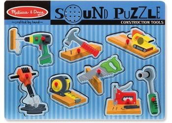 Australia M&D - Construction Tools Sound Puzzle - 8pc
