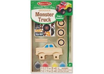 Australia M&D - Wooden Monster Truck - DYO