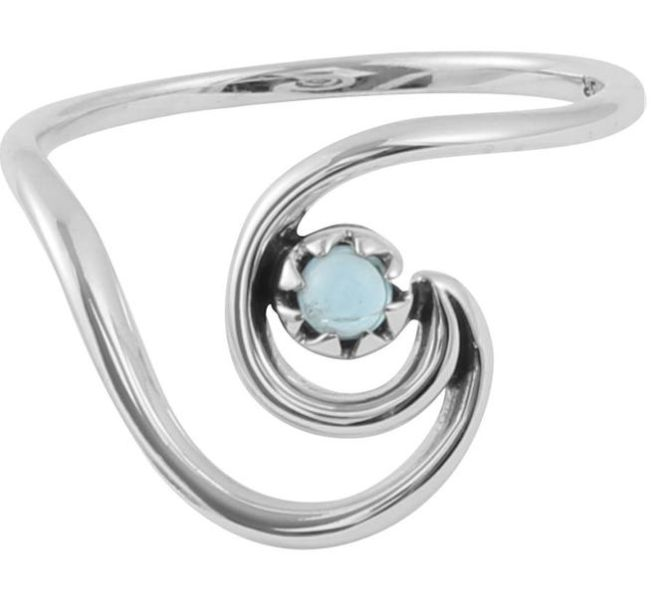 Australia Wave ring with stone