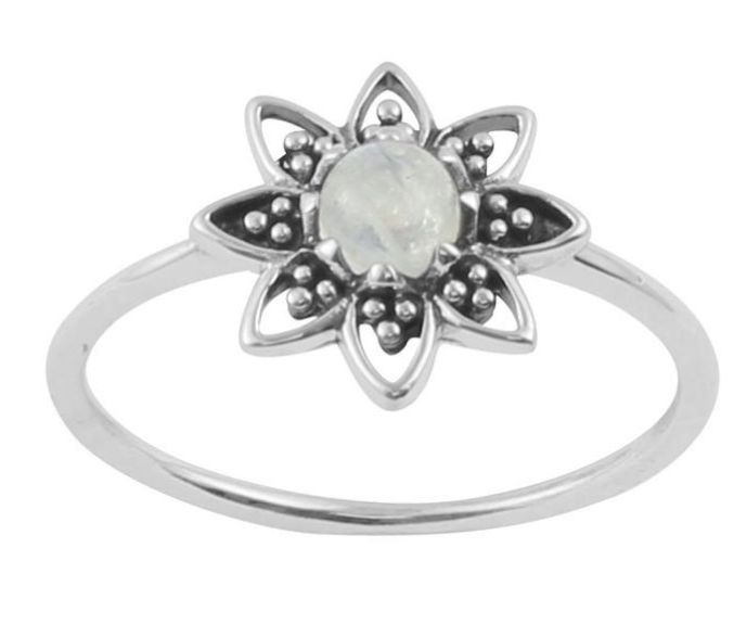 Australia Rising sun ring with Opal Doublet