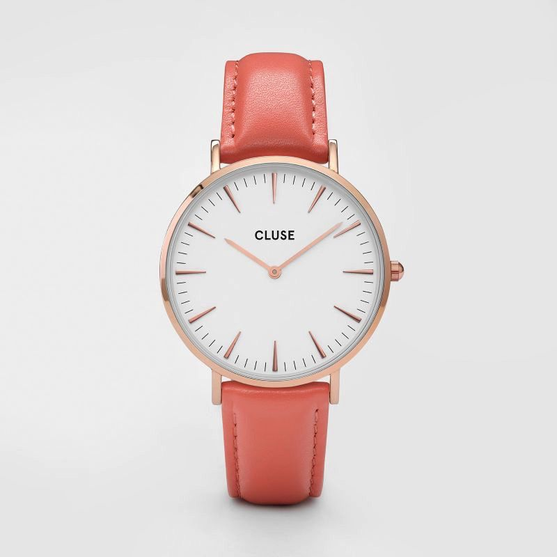Australia CLUSE La Boheme Rose Gold White/Flamingo