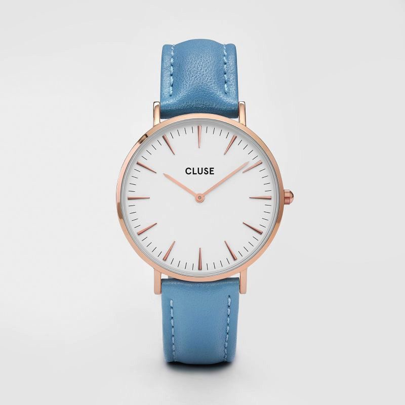 Australia CLUSE La Boheme Rose Gold White/Retro Blue