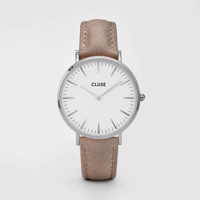 Australia CLUSE La Boheme Silver White/Hazelnut