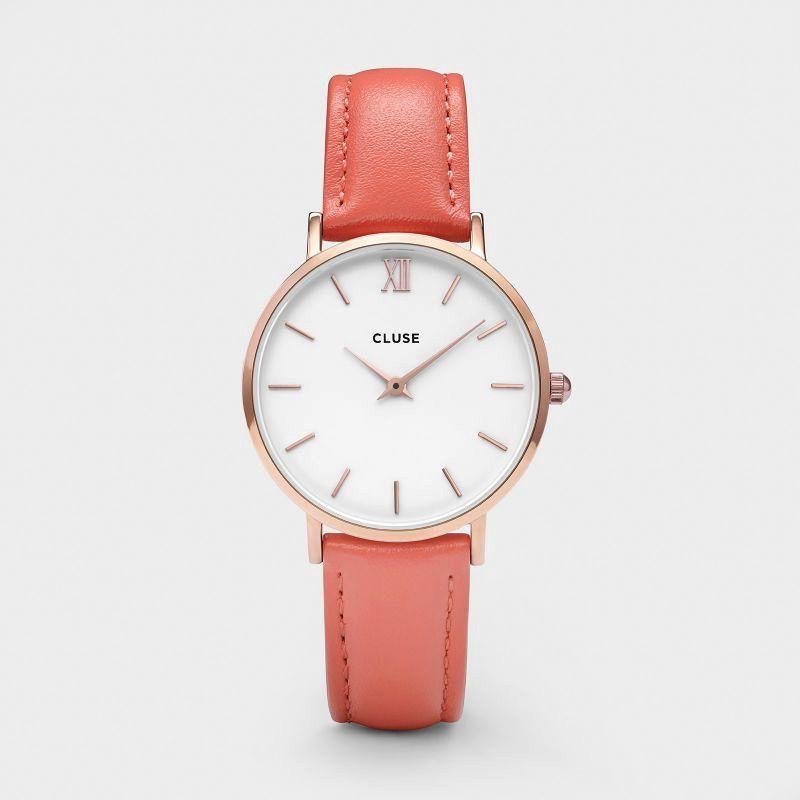 Australia CLUSE Minuit Rose Gold White/Flamingo