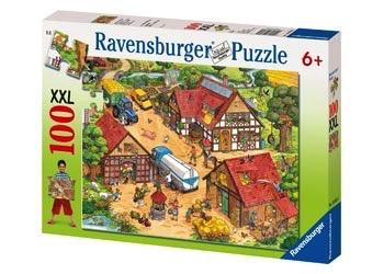 Australia Ravensburger - Busy Farm Puzzle 100pc