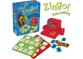 Australia ThinkFun - Zingo! Time-Telling Game