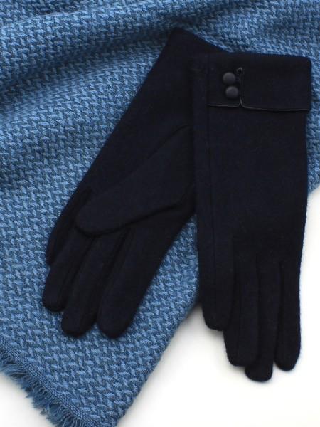 Australia Navy Wool 2 Button Glove