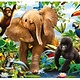 Australia Rburg - Jungle Juniors SuperSize Puzzle 24pc