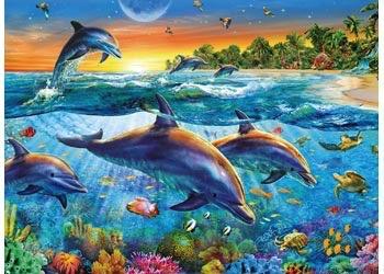 Australia Rburg - Dolphin Cove Puzzle 500pc