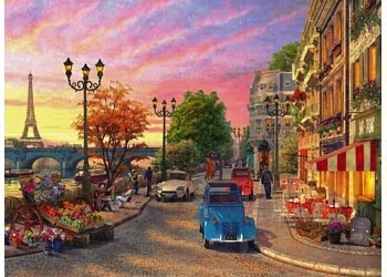 Australia Rburg - A Paris Evening Puzzle 500pc