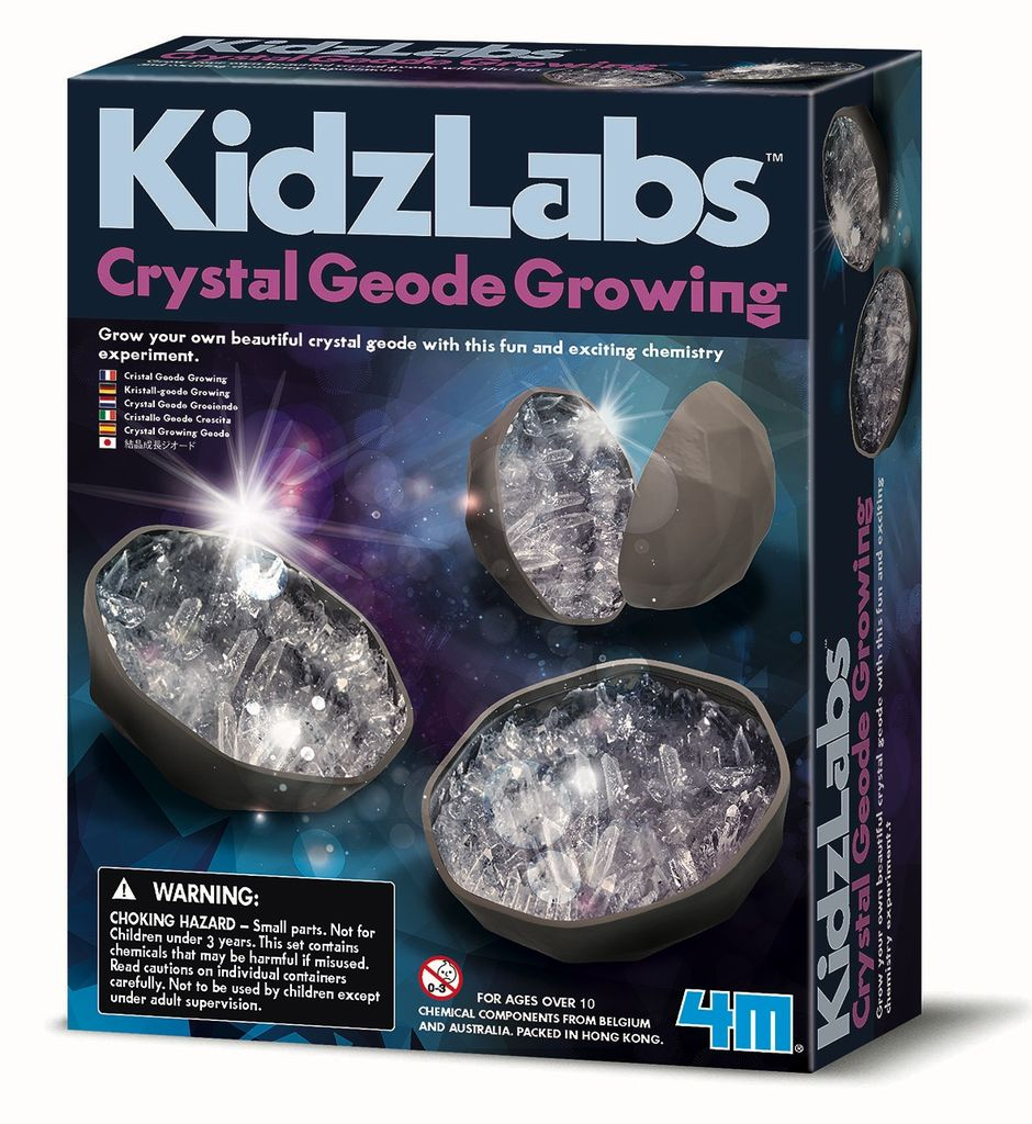 Australia CRYSTAL GEODE GROWING KIT: KIDZ LAB