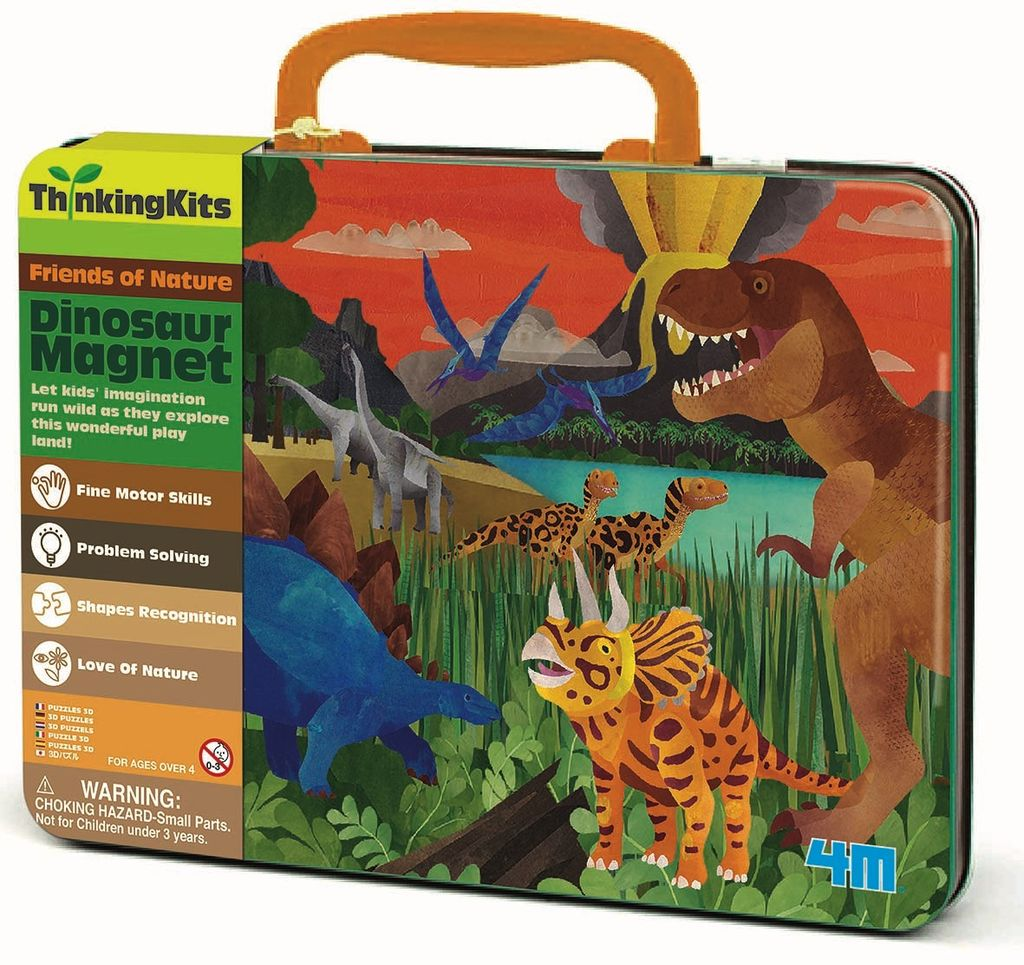 Australia DINOSAUR MAGNETS: THINKING KIT