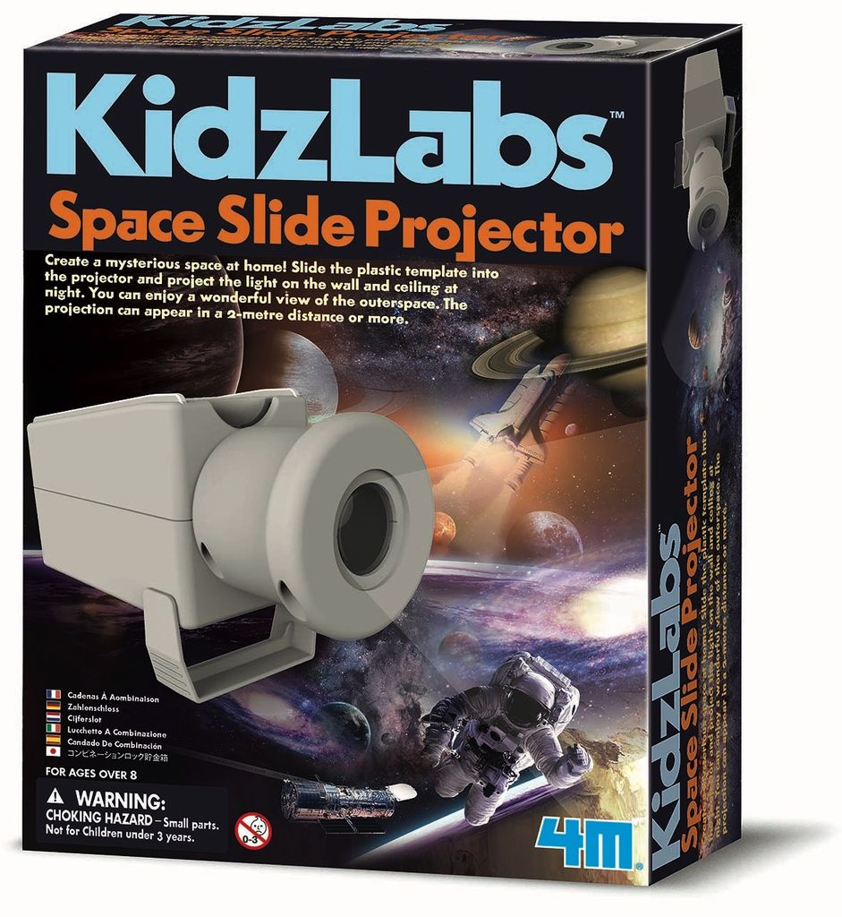 Australia SPACE SLIDE PROJECTOR: KIDZ LAB