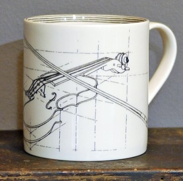 Europe CLASSICAL MUSIC STANDARD MUG - Violin