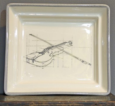 Europe CLASSICAL MUSIC HALL TRAY - violin