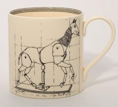 Europe ARTIST STUDIO MUG - Horse