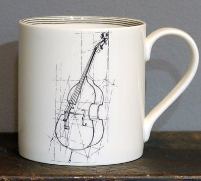 Europe CLASSICAL MUSIC STANDARD MUG - Double Bass