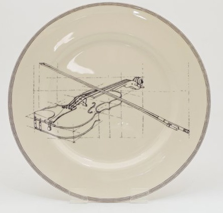 Europe CLASSICAL MUSIC 10'PLATE - Violin