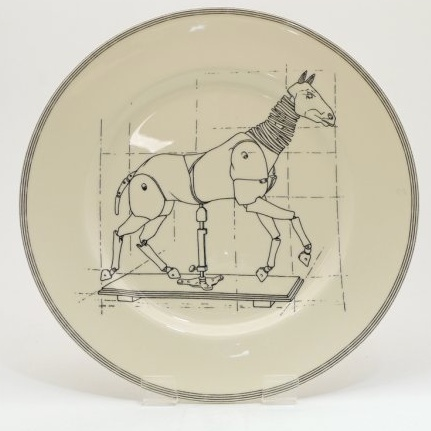 Europe 10' PLATE - Horse