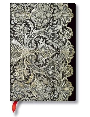 Australia Lace Allu, Ivory Veil, Mini, Lin Paperblanks