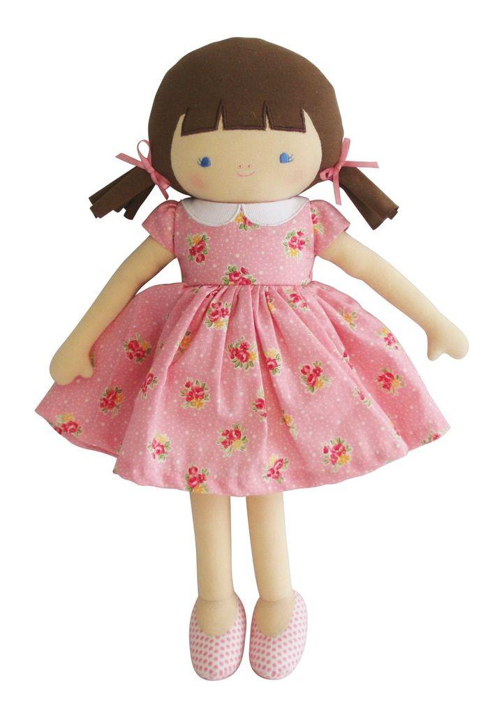 Australia Olive Doll 38cm Pink Floral