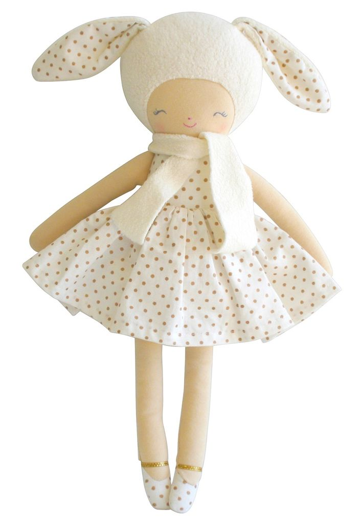 Australia Big Belle Bunny Girl Gold Spot