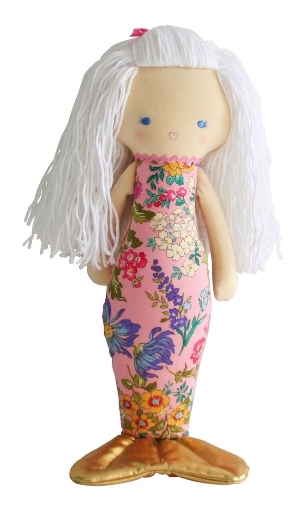 Australia Mermaid Doll Pink