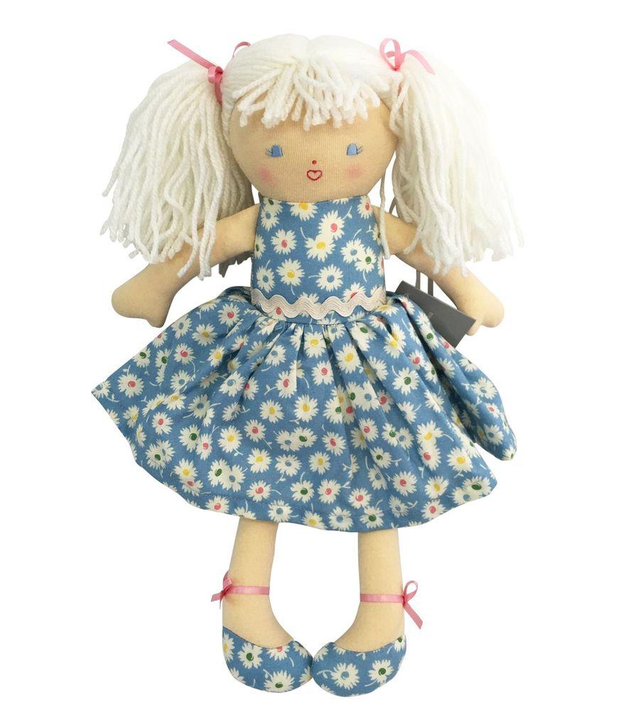 Australia Ginny Doll - Blue Floral