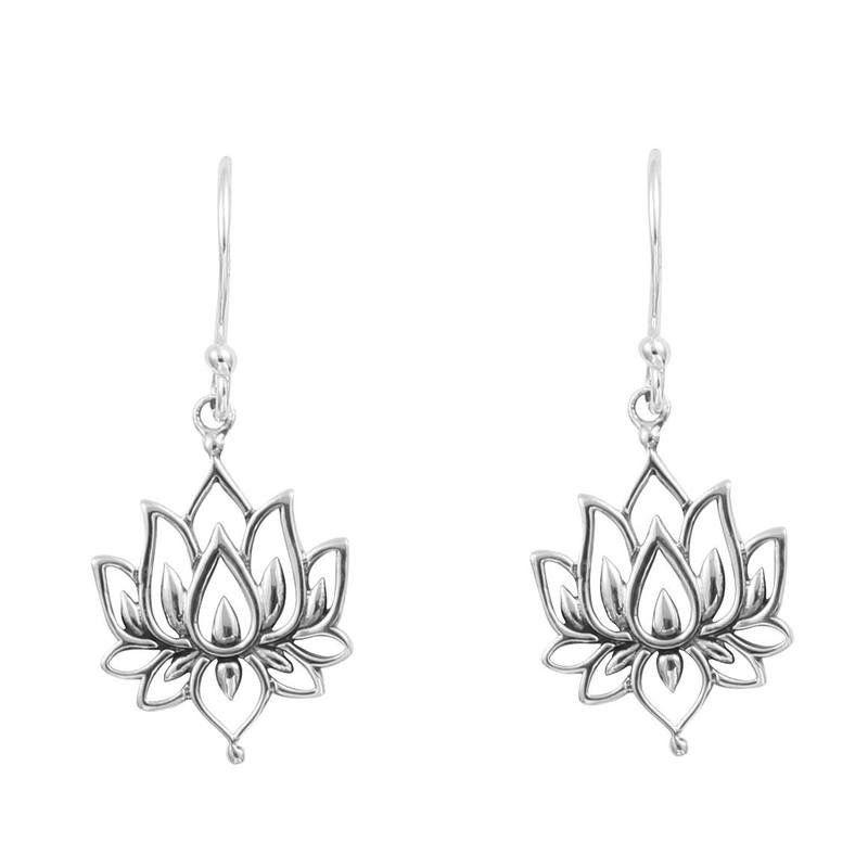 Australia Blossoming Lotus Earrings