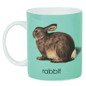 Australia Ladybird Alphabet Mug - Rabbit
