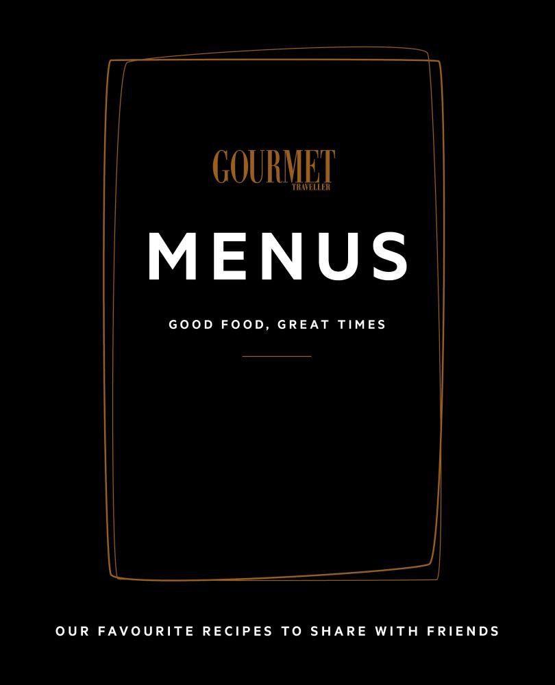 Australia Gourmet Traveller Menus