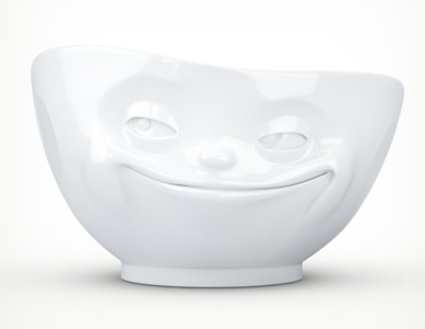 """Europe Bowl """"grinning"""" white"""