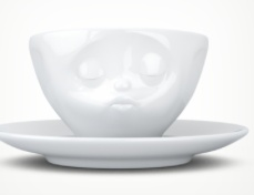 """Europe Espresso Cup 100ml """"kissing"""""""