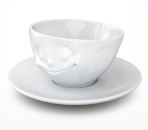 "Europe Espresso Cup 100ml ""happy"""