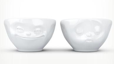 """Europe 100ml Bowls """"kiss&grin"""""""