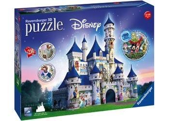 Australia Rburg - Disney Castle 3D Puzzle 216pc