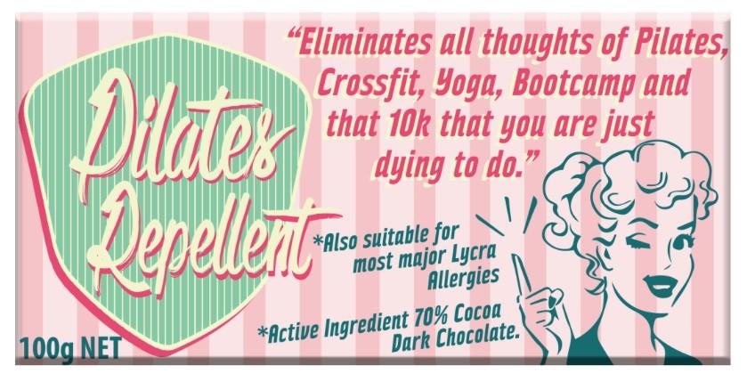 Australia Pilates Repellent Milk Chocolate