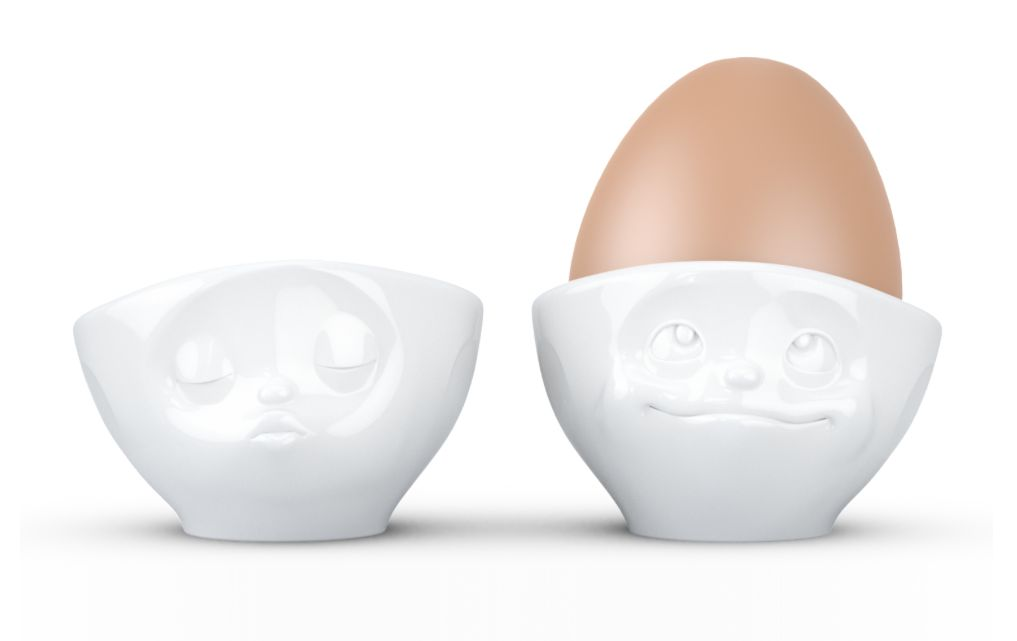Europe Egg Cup kissing/dreamy