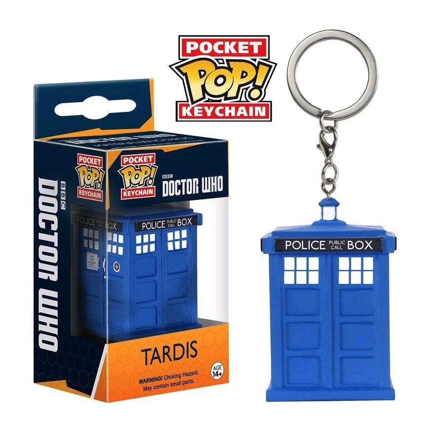 Australia Dr Who - TARDIS Pop! Keychain