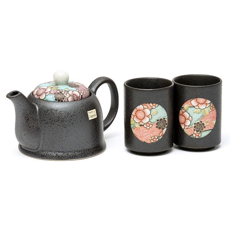 Australia Beni Blue 2 Cup Tea Set