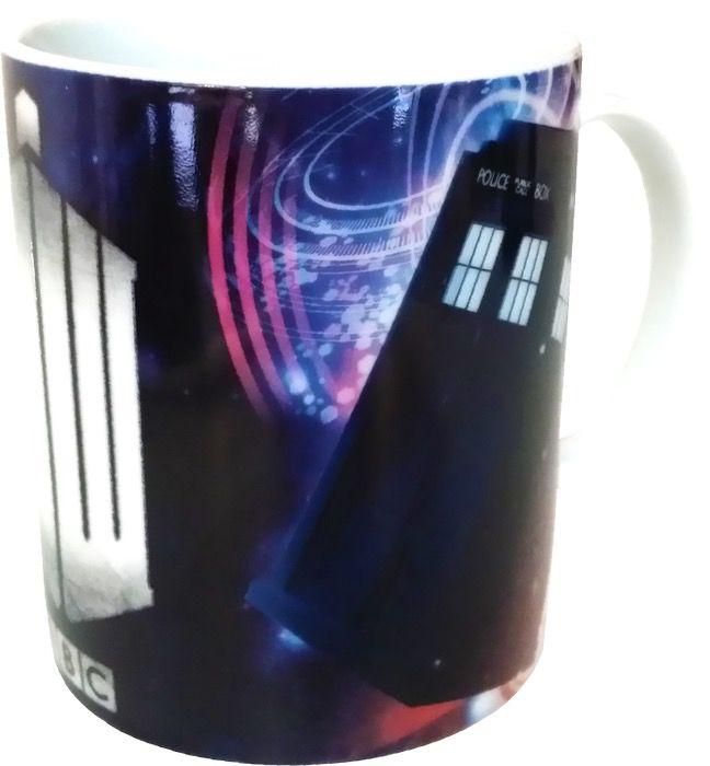 Australia Dr Who - TARDIS & Insignia Logo Mug