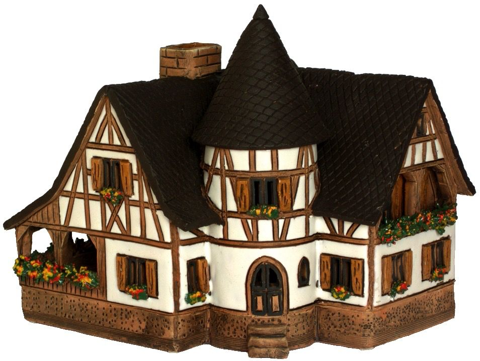 Europe Large German House Tealight - C 292 ar